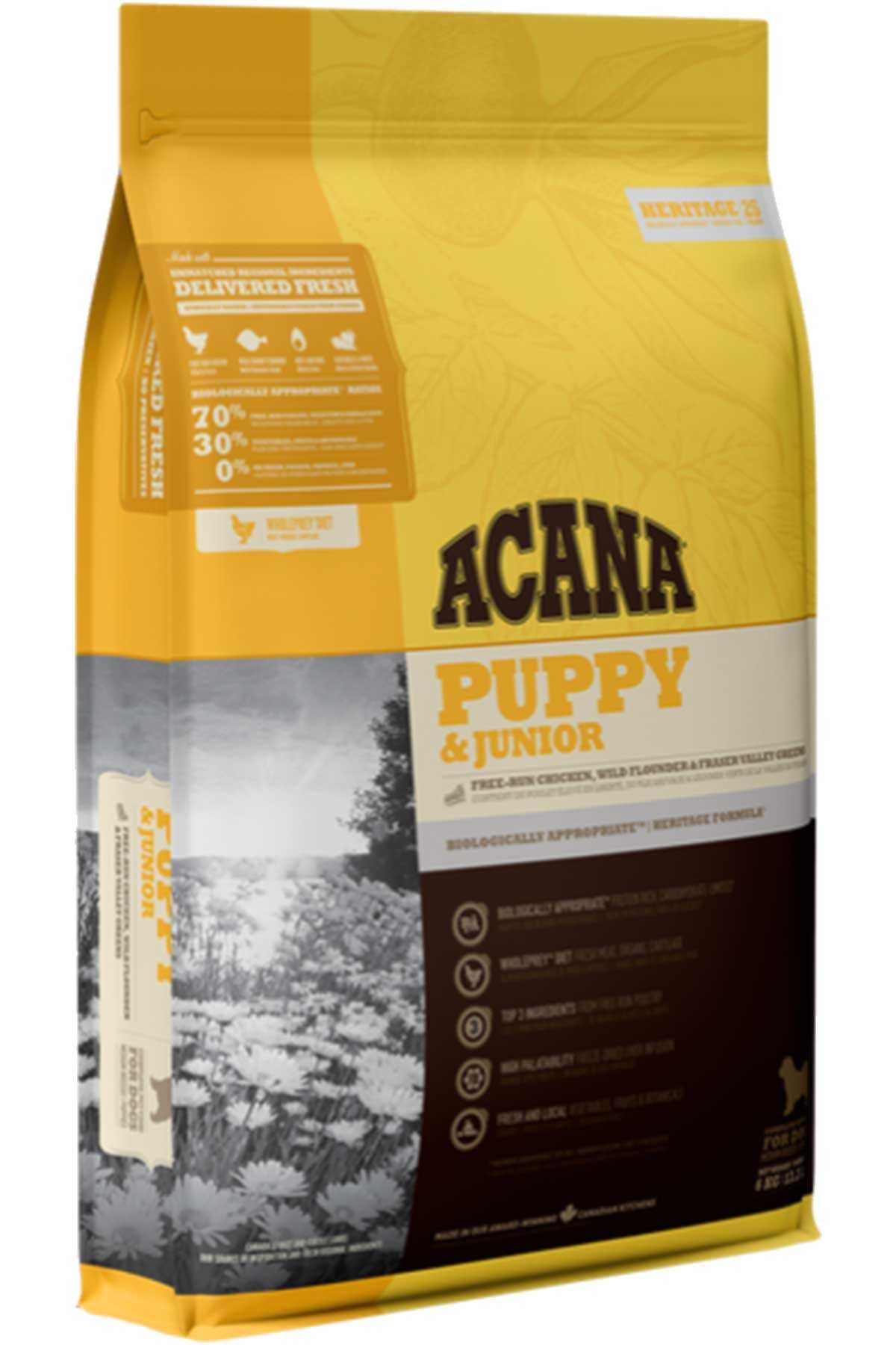 Acana Puppy & Junior Tahılsız Yavru Köpek Maması 2kg