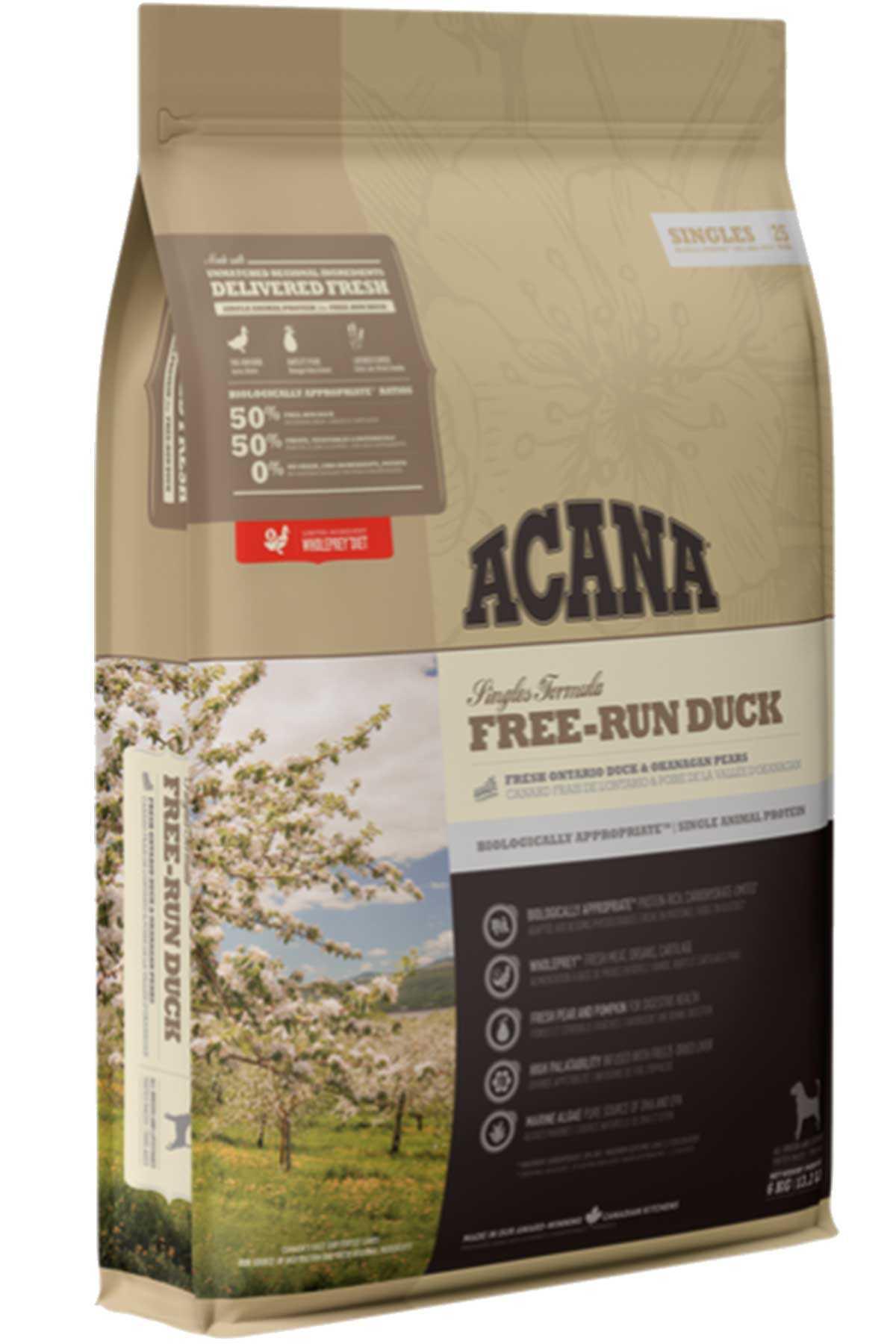 Acana Free Run Duck Tahılsız Ördekli Köpek Maması 11,4kg
