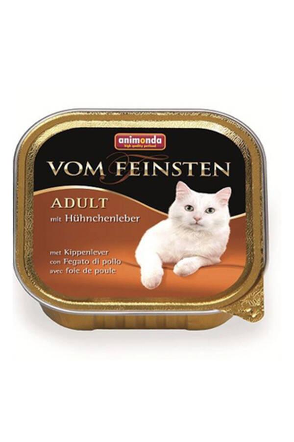 Animonda Tavuk ve Ciğerli Yetişkin Kedi Konserve 100gr