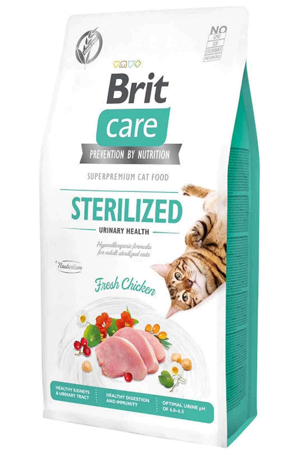 Brit Care Urinary İdrar Yolları Sağlığı için Tavuklu Kısırlaştırılmış Kedi Maması 7kg