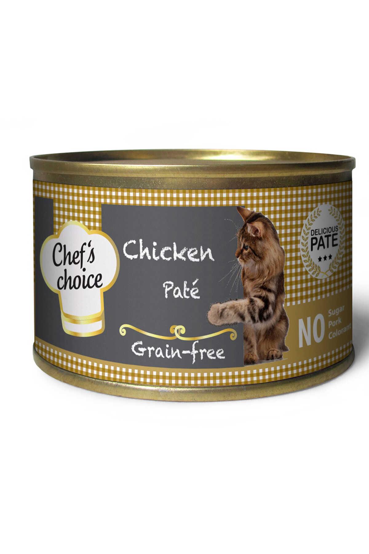 Chefs Choice Tahılsız Tavuk Etli Yetişkin Kedi Konservesi 85gr