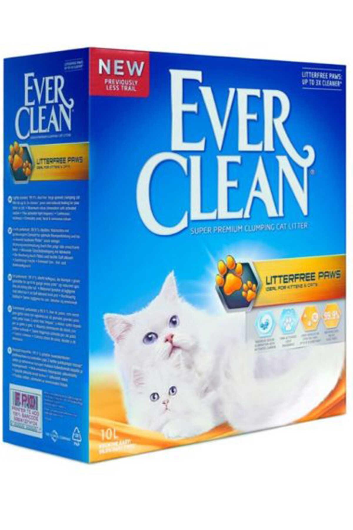 Ever Clean Patiye Yapışmayan ve İz Bırakmayan Kedi Kumu 10lt