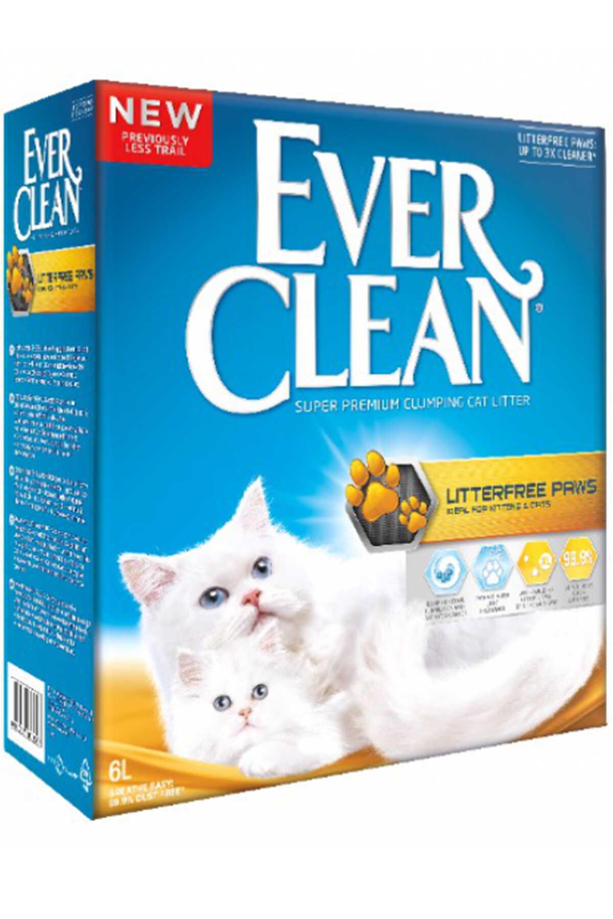 Ever Clean Patiye Yapışmayan ve İz Bırakmayan Kedi Kumu 6lt