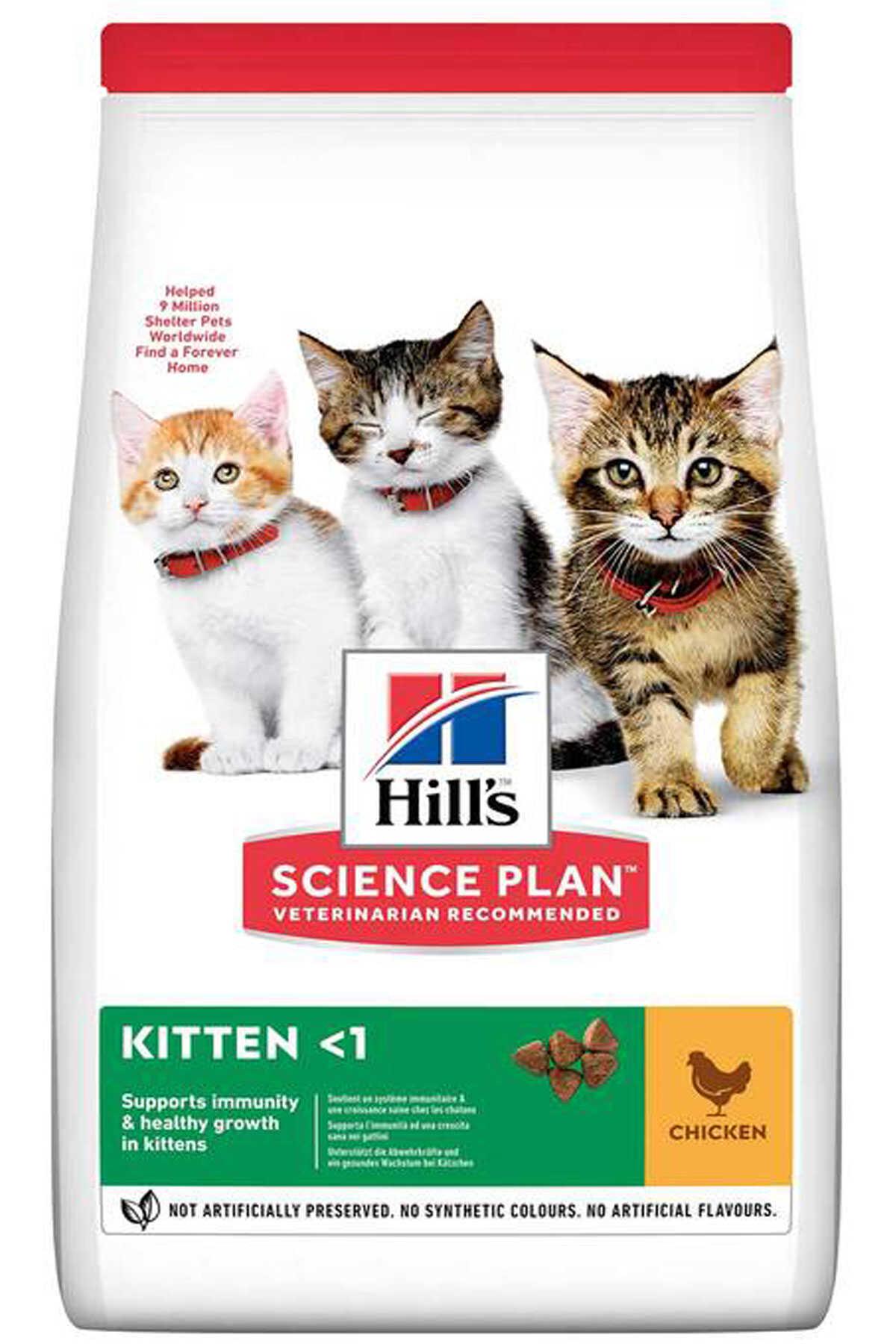 Hills Kitten Tavuklu Yavru Kedi Maması 1,5kg
