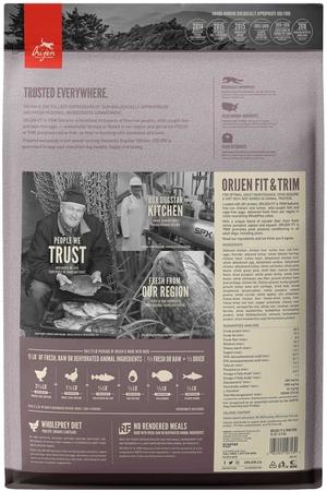 Orijen Fit & Trim Fazla Kilolu Köpekler için Tahılsız Yetişkin Köpek Maması 11,4kg - Thumbnail