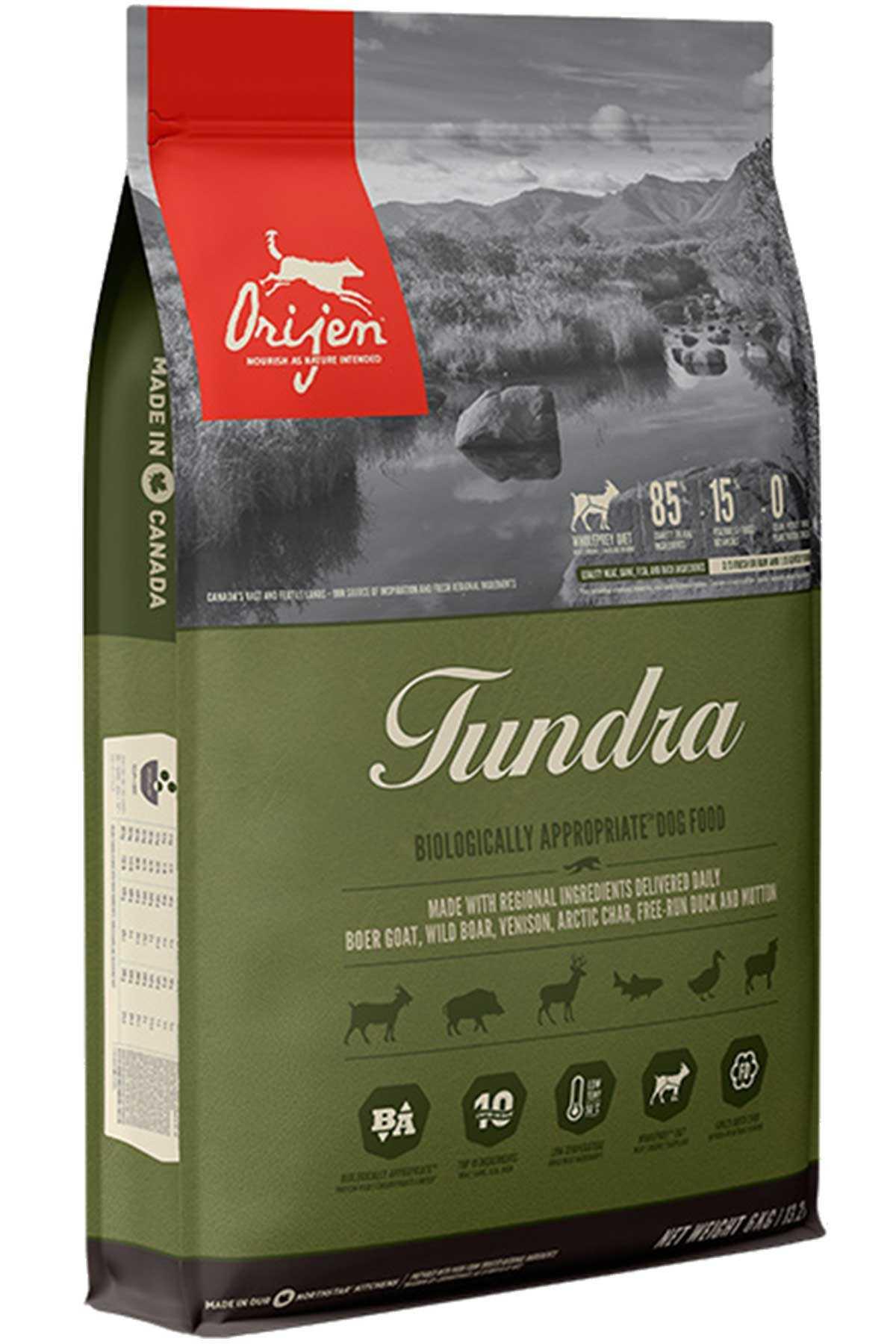 Orijen Tundra Tahılsız Yetişkin Köpek Maması 2kg