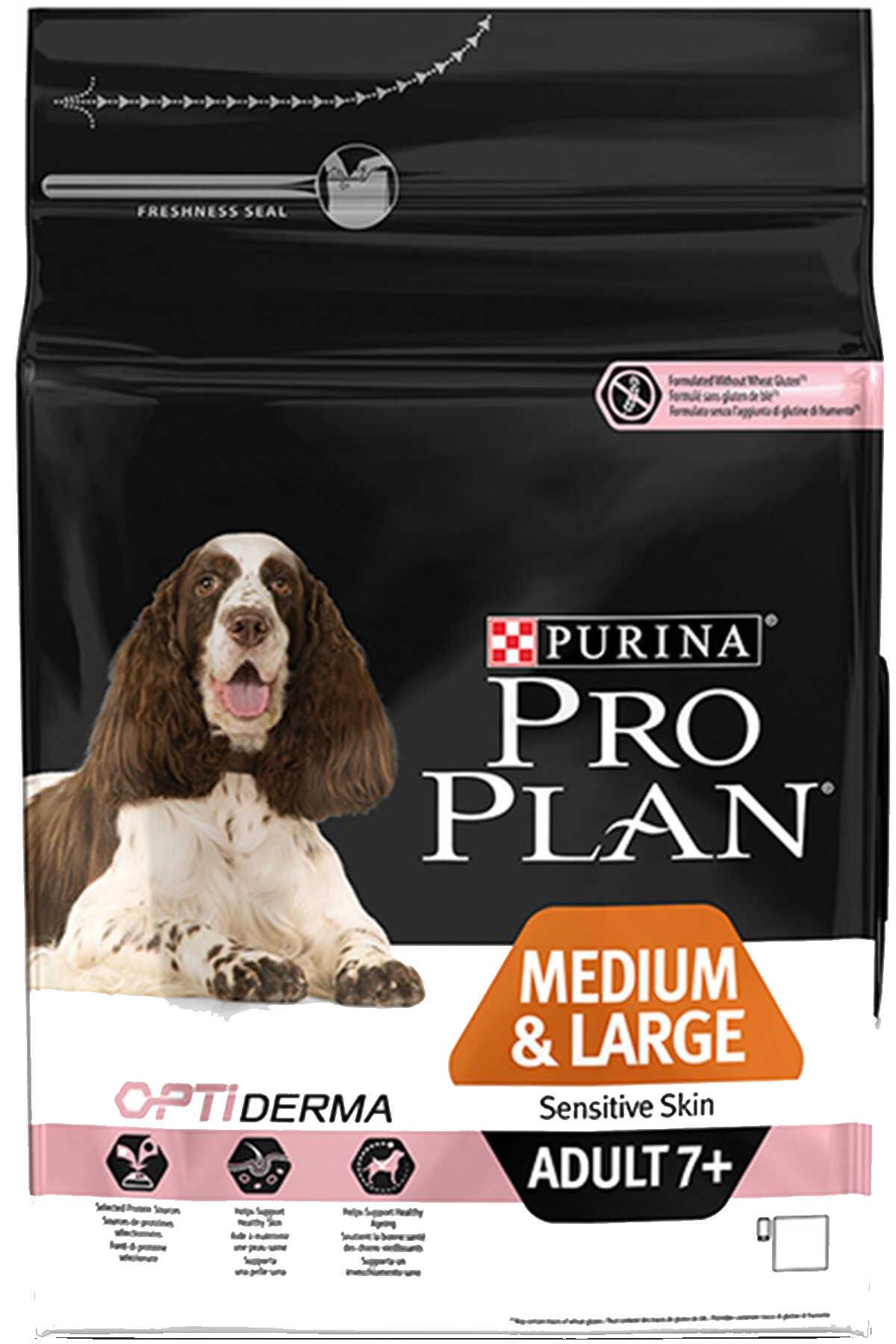 Pro Plan Somon ve Pirinçli Orta ve Büyük Irk Hassas Derili Yaşlı Köpek Maması 3kg
