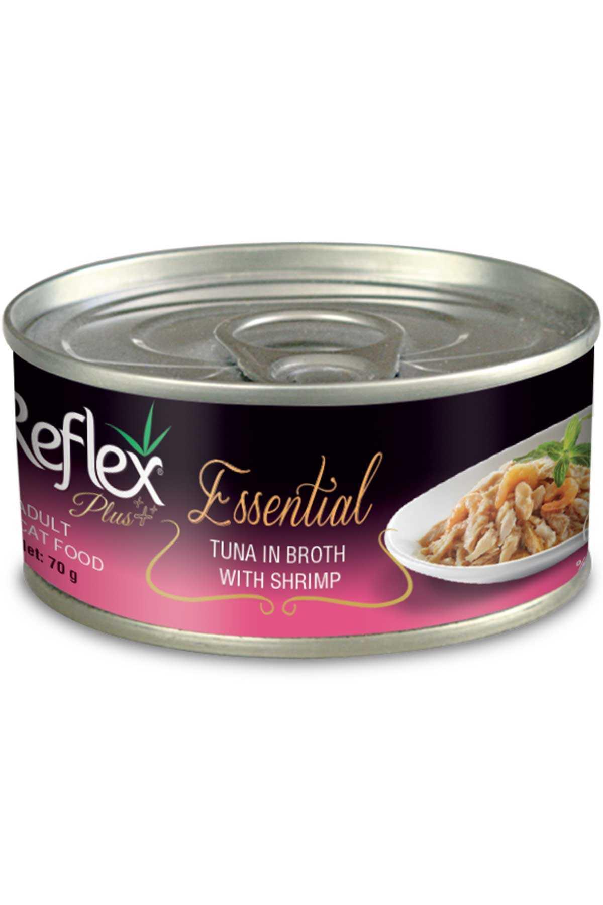 Reflex Plus Ton Balığı ve Karidesli Kedi Konservesi 70gr