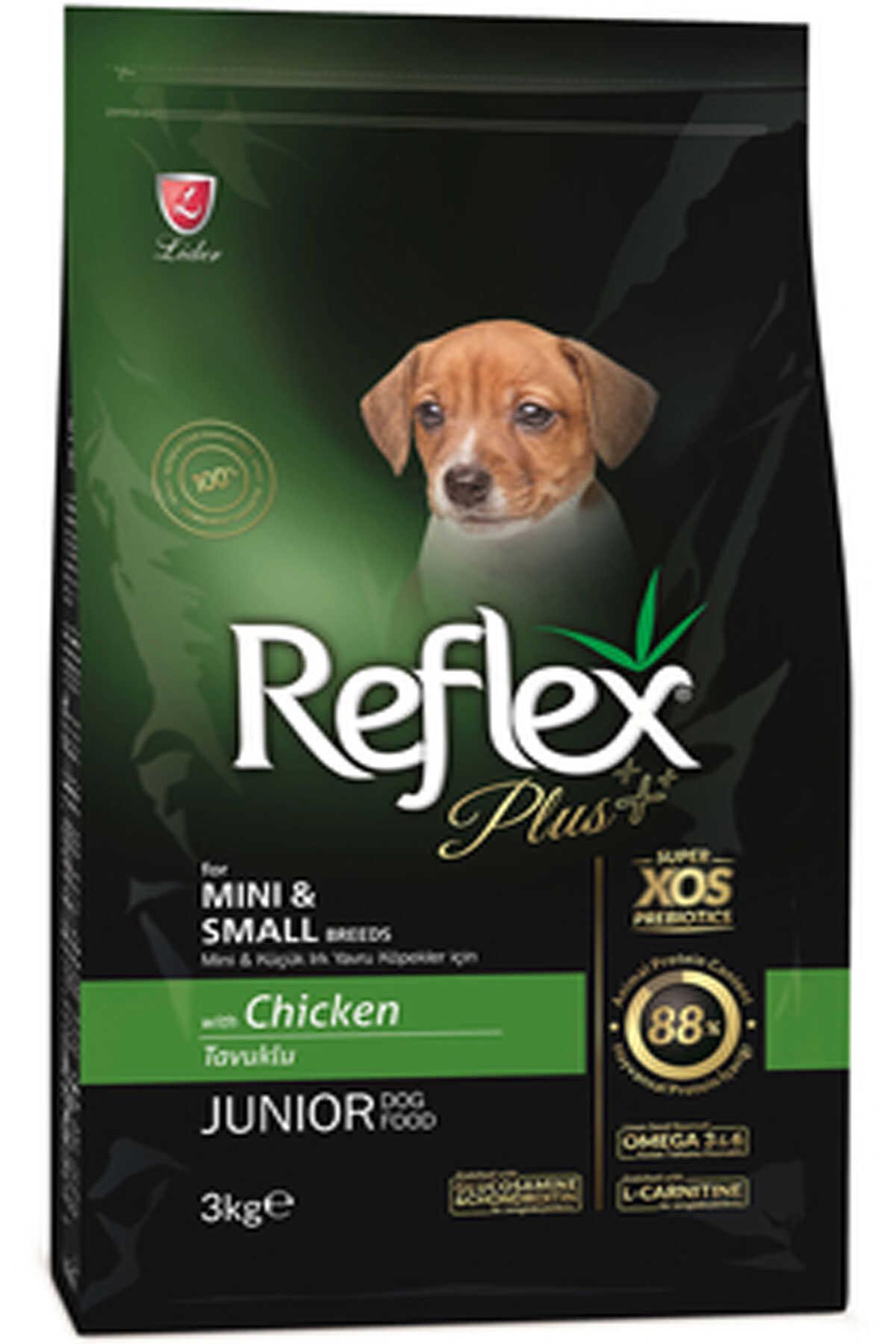 Reflex Plus Tavuklu Mini ve Küçük Irk Yavru Köpek Maması 3kg