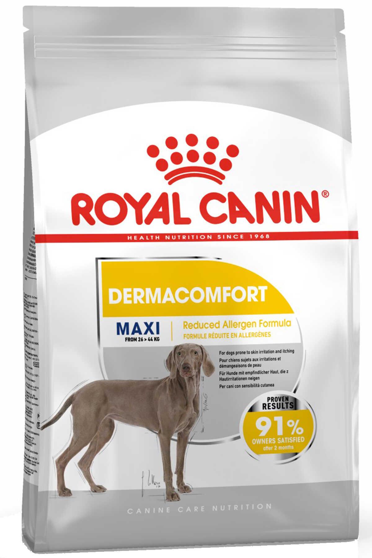 Royal Canin Dermacomfort Maxi Hassas Derili Büyük Irk Köpek Maması 10kg