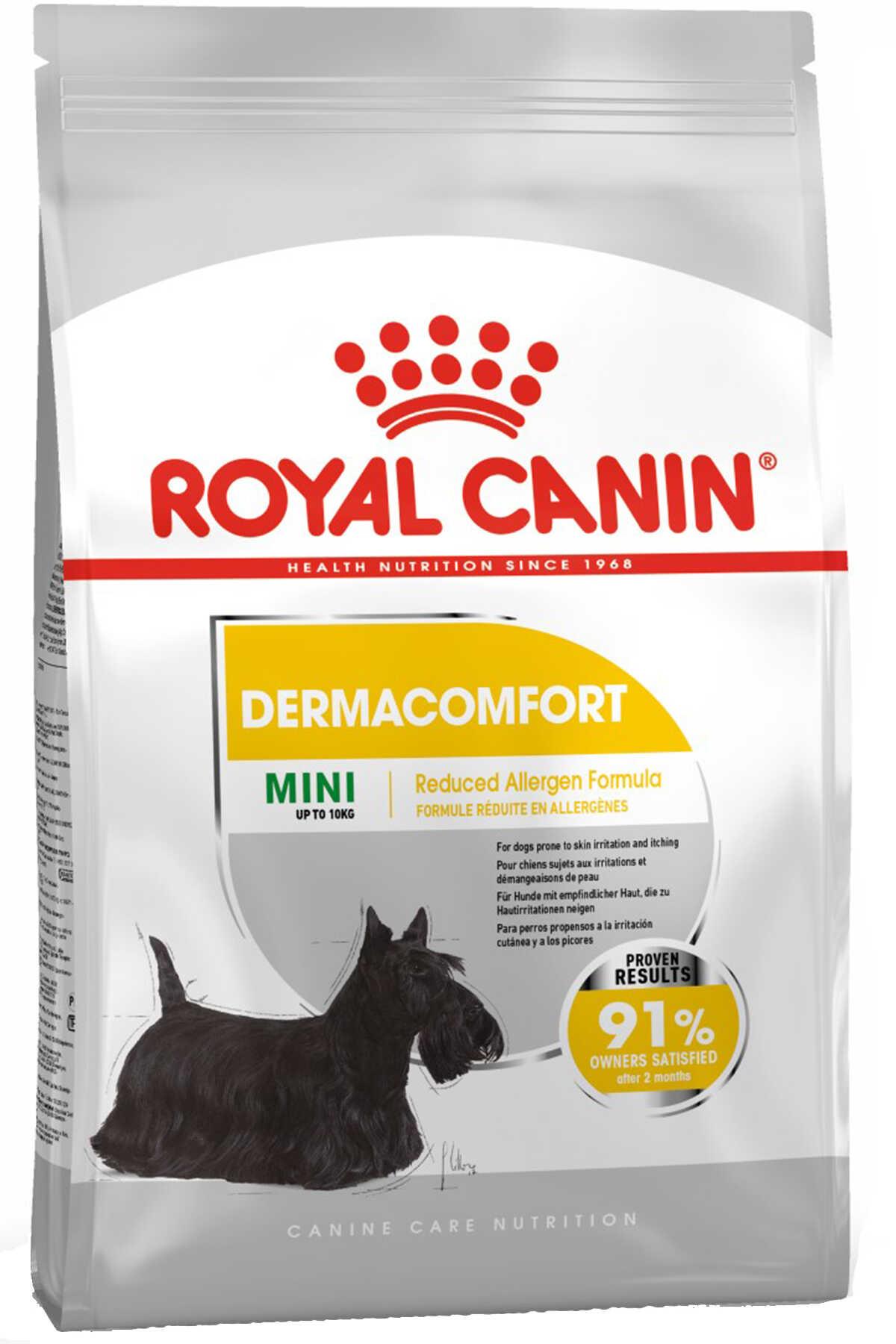 Royal Canin Dermacomfort Mini Hassas Derili Küçük Irk Köpek Maması 3kg