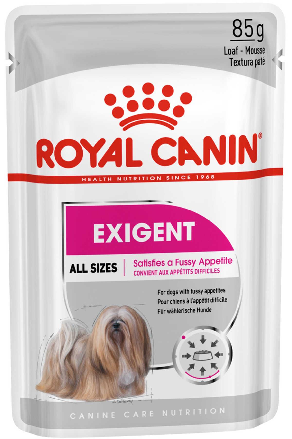 Royal Canin Exigent Seçici Köpek Konservesi 85gr