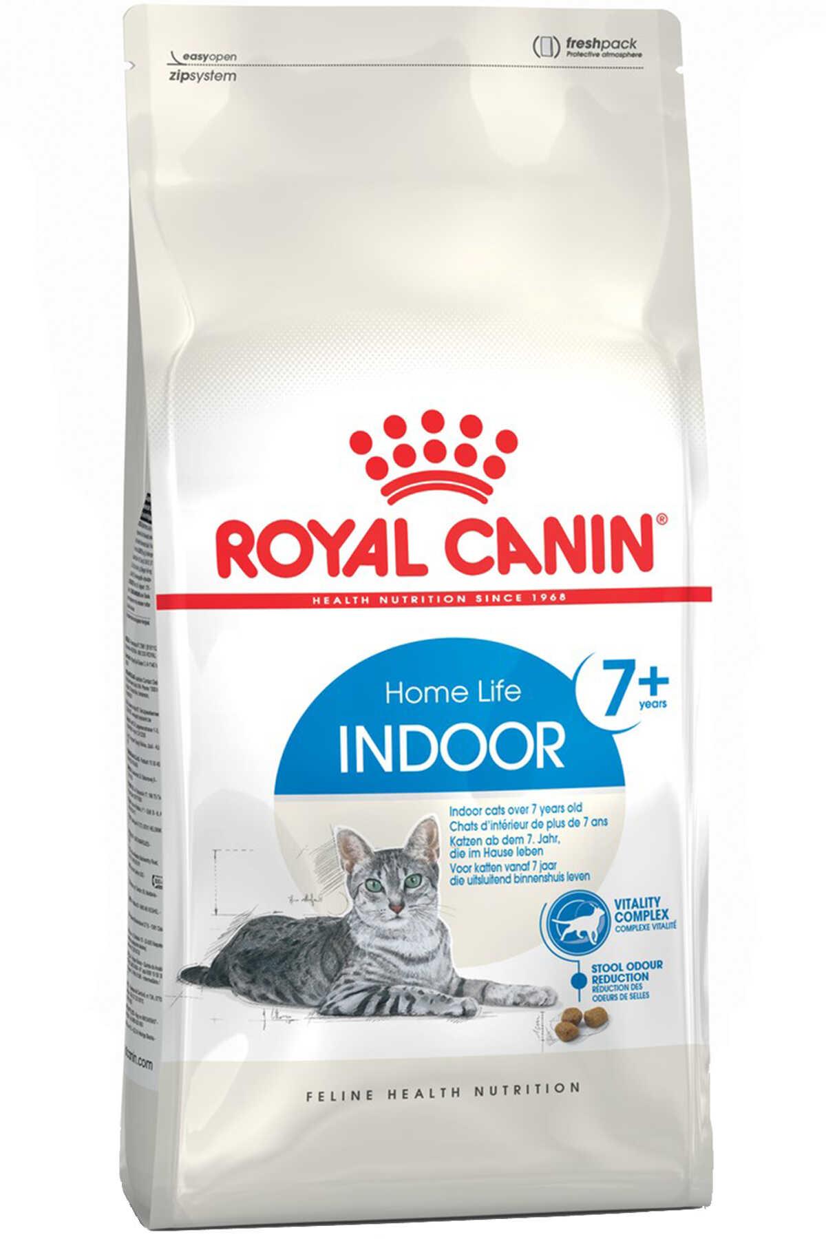 Royal Canin Indoor +7 Ev Kedileri için Yaşlı Kedi Maması 1,5kg