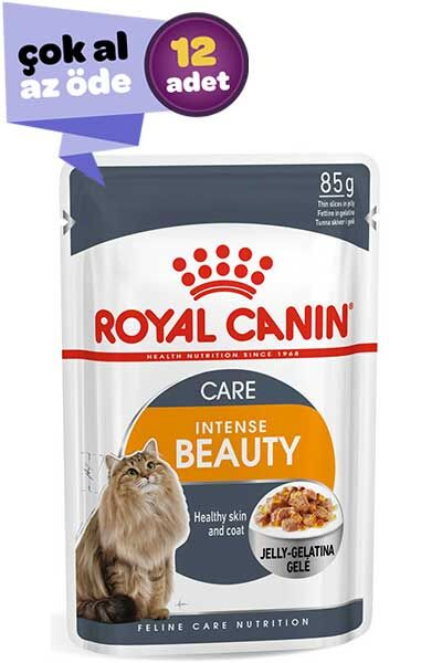 Royal Canin Instense Beauty Jöleli Kedi Konservesi 12x85gr (12li)
