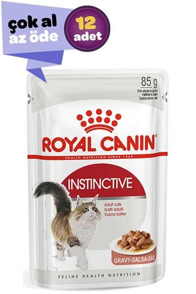 Royal Canin Instinctive Gravy Kedi Konservesi 12x85gr (12li)