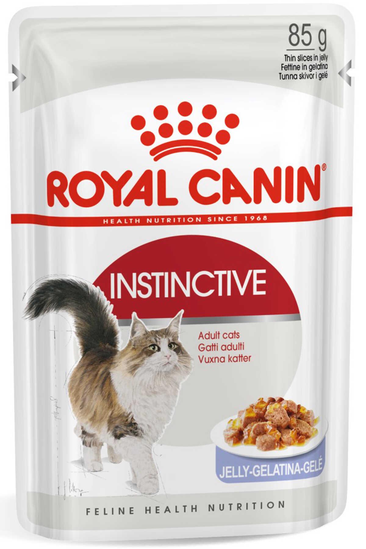Royal Canin Instinctive Jöleli Kedi Konservesi 85gr