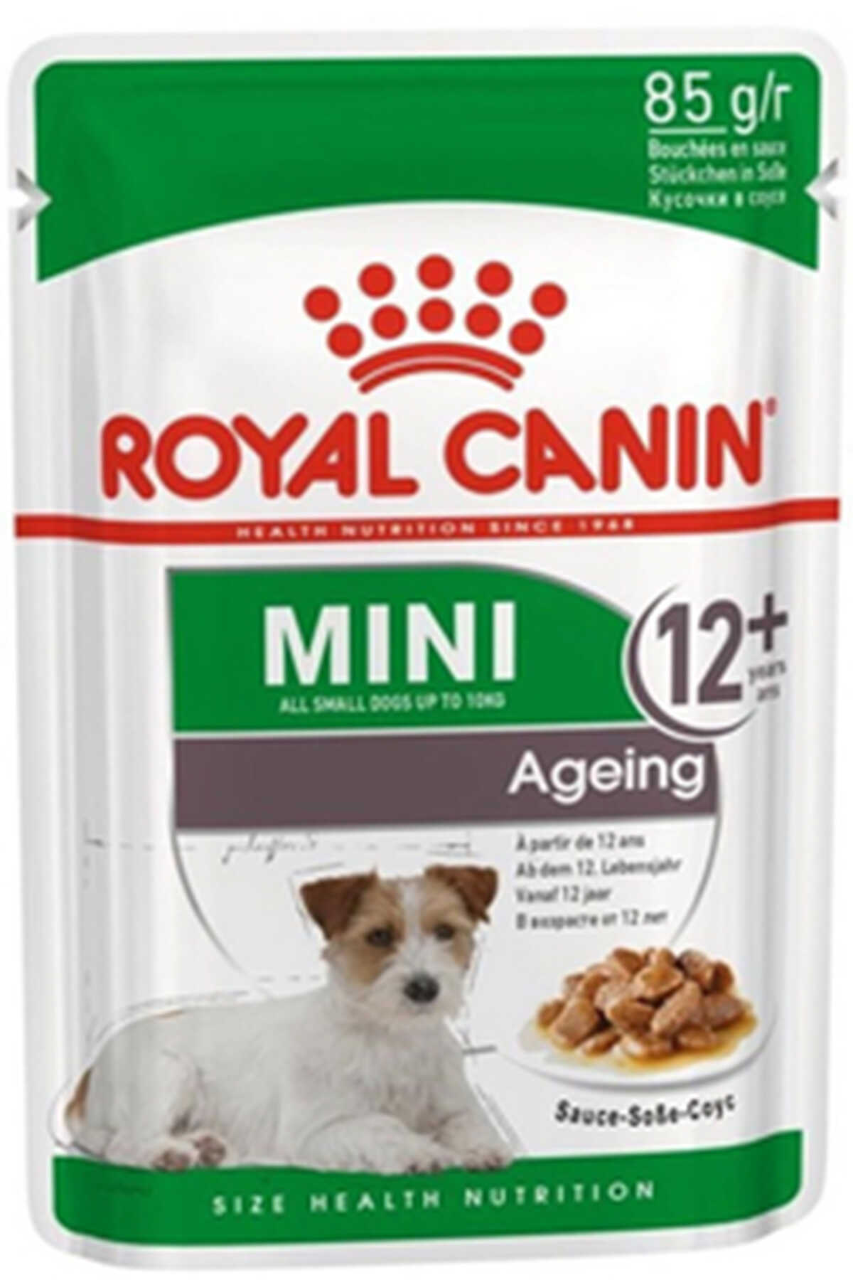 Royal Canin Mini +12 Ageing Pouch Yaşlı Köpek Konservesi 85gr