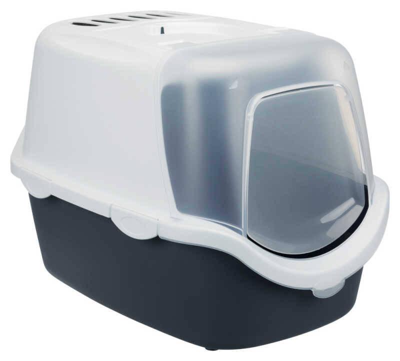 Trixie Kapalı Kedi Tuvaleti 40×40×56cm Gri
