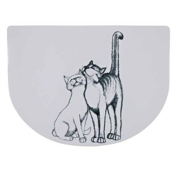 Trixie Kedi Mama Servisi (Yarım Daire) 40x30cm