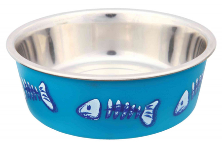 Trixie Kedi Paslanmaz Mama Su Kabı 0,3lt 12cm - Thumbnail