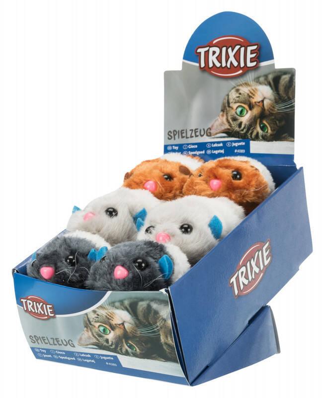 Trixie Kedi Peluş Oyuncağı 7-10cm