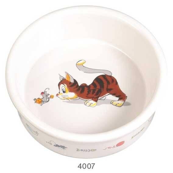 Trixie Kedi Seramik Mama Su Kabı, 0,2lt 11cm