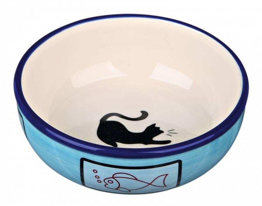 Trixie Kedi Seramik Mama ve Su Kabı 0,35lt 12,5cm