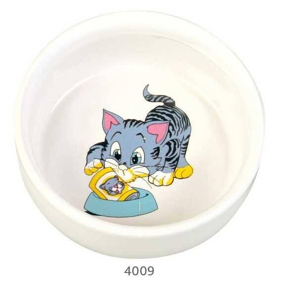 Trixie Kedi Seramik Mama Su Kabı, 0,3lt 11cm