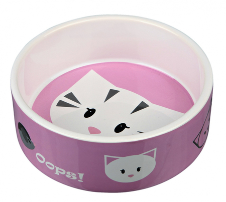 Trixie Kedi Seramik Mama Su Kabı, 0,3lt 12cm - Thumbnail