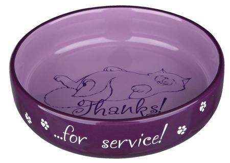 Trixie Kedi Seramik Mama Su Kabı 0,3lt 15cm - Thumbnail