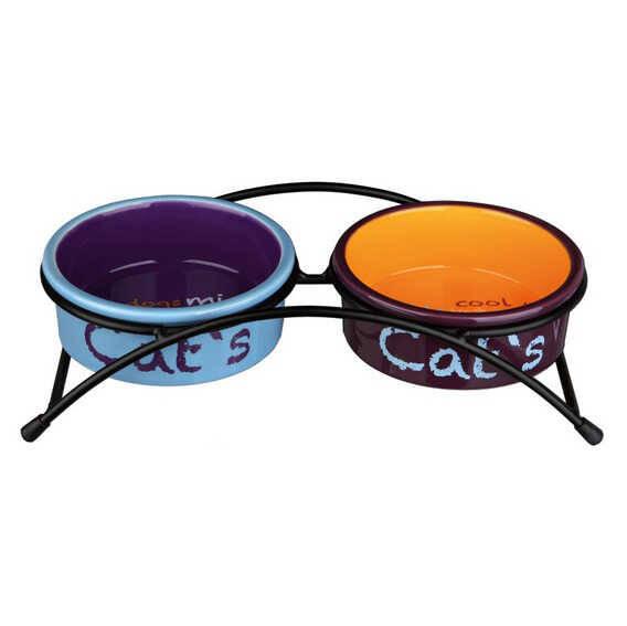 Trixie Kedi Seramik Mama Su Kabı Seti 2×0,3lt