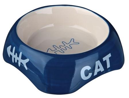 Trixie Kedi Seramik Mama ve Su Kabı 200ml 13cm - Thumbnail
