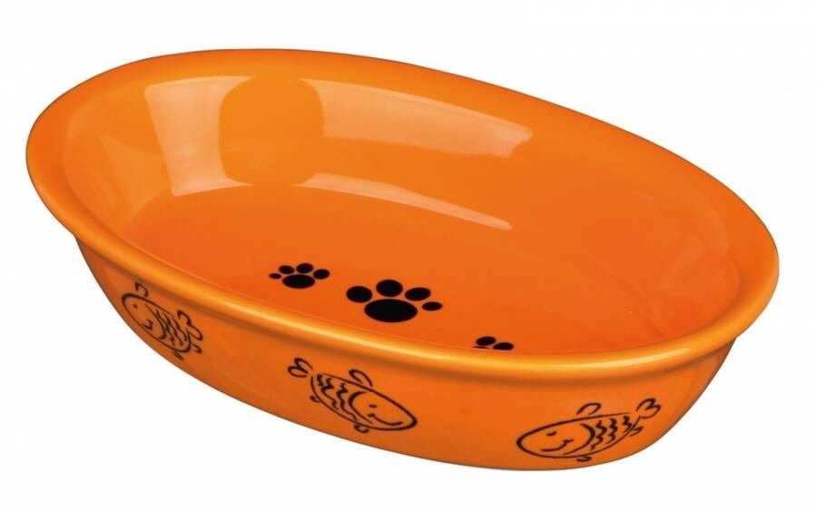 Trixie Seramik Kedi Mama ve Su Kabı 0,2lt 15x10cm