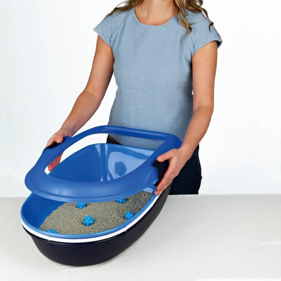 Trixie Kedi Tuvaleti, Elekli, K.Gri 39×22×59cm