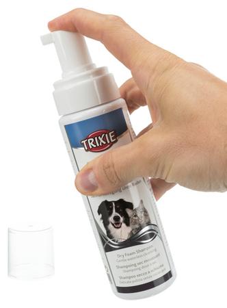 Trixie Köpek ve Kedi için Kuru Köpük Şampuan 230ml - Thumbnail